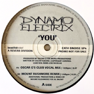 "Dynamo Electrix - You (12"") (Promo) (VG/NM)"